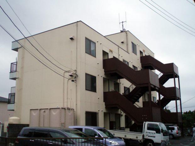 外壁塗装施工事例(塗装前)