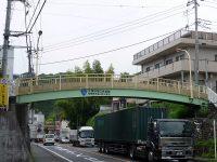 久保沢第二歩道橋 塗り替え