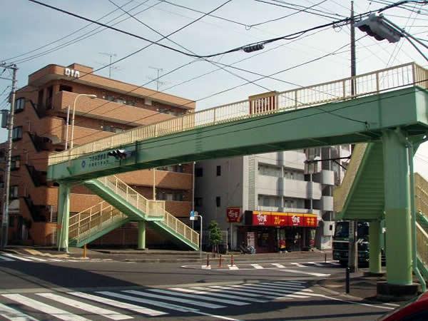 つきみ野歩道橋塗り替え